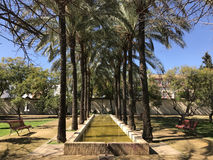 Buhaira Garden. In Seville Spain Stock Photography