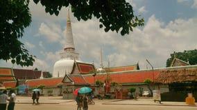 Buhda-Tempelgeschichte Lizenzfreie Stockbilder