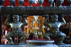Buhhda of Wat Wang Wiwekaram Sangkhlaburi  Kanchanaburi Thailand Stock Photos