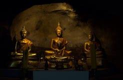 Buhism在泰国 免版税库存照片
