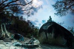 Buhism在泰国 库存图片