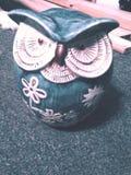 Buho de cerámica Imagenes de archivo