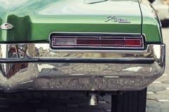 1971年Buick里维埃拉关闭 图库摄影