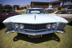 1963年Buick里维埃拉前面 免版税库存图片