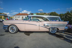 1958年buick骑士 图库摄影