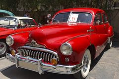 1949 Buick έξοχο μετατρέψιμο κρουαζιέρας Lo, VCCCI εκλεκτής ποιότητας και κλασική συνάθροιση αυτοκινήτων, την 1η Απριλίου 2018, K στοκ εικόνα