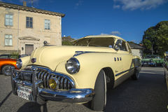 1949 Buick οκτώ έξοχο Dynaflow 2 πόρτα Coupe Στοκ φωτογραφία με δικαίωμα ελεύθερης χρήσης