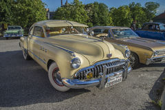 1949 Buick οκτώ έξοχο Dynaflow 2 πόρτα Coupe Στοκ εικόνα με δικαίωμα ελεύθερης χρήσης