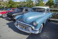 1951 Buick οκτώ λουξ Στοκ Φωτογραφία