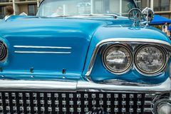 1958 Buick περιόρισε μετατρέψιμο Στοκ φωτογραφίες με δικαίωμα ελεύθερης χρήσης