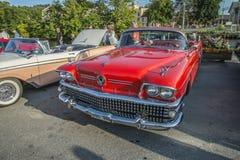 1958 Buick περιόρισε μετατρέψιμο Στοκ Εικόνες