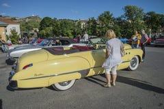 1949 Buick Acht Super Dynaflow 2 Convertibele Deur Royalty-vrije Stock Afbeelding