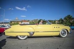 1949 Buick Acht Super Dynaflow 2 Convertibele Deur Stock Afbeelding