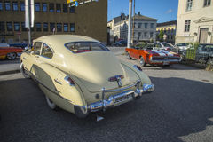1949 Buick Acht Super Dynaflow 2 deurcoupé Royalty-vrije Stock Foto's