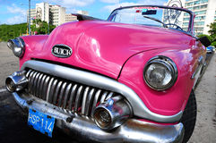Buick auto 1953. Buick car from year 1953 in La Habana, Cuba Royalty Free Stock Image