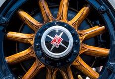 1929 Buick Automobile Wooden Wheel stock photo