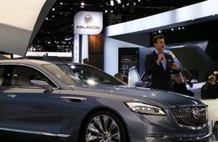 Buick Avenir at the 2015 NAIAS Stock Photography