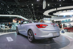 Buick Cascada auf Anzeige Lizenzfreie Stockbilder