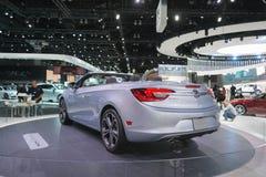 Buick Cascada sur l'affichage Images libres de droits