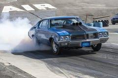 Buick die een rook maken tonen Stock Foto's
