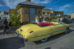 1949 buick dynaflow convertible Stock Photography