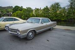 1965年buick electra,经典amcar 库存照片