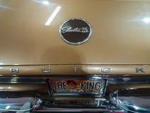 Buick electra 225 sign Elvis King of Rock 'n' Roll Stock Image