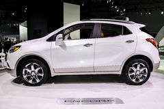 Buick Encore at the 2016 New York International Auto Show Stock Photography