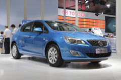 Buick excelle xt car Royalty Free Stock Photography