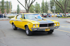 Buick GSX classic car on display Royalty Free Stock Photos