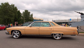 Buick LeSabre 4-door Hardtop. On autoshow. Russia Stock Photos