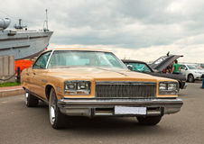 Buick LeSabre 4-door Hardtop. On autoshow. Russia Royalty Free Stock Image