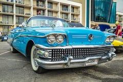 Buick Limited-Kabriolett 1958 Lizenzfreies Stockfoto