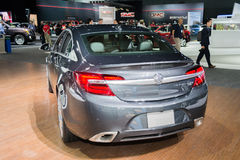 Buick Regal GS AWD 2015 on display. Los Angeles, CA - November 19, 2014: Buick Regal GS AWD 2015 on display at the LA Auto Show Stock Photos