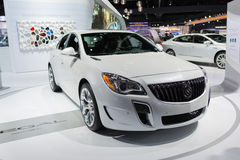 Buick Regal GS on display. Los Angeles, USA - November 16, 2016: Buick Regal GS on display during the Los Angeles Auto Show Royalty Free Stock Photo