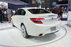 Buick Regal GS on display. Los Angeles, USA - November 16, 2016: Buick Regal GS on display during the Los Angeles Auto Show Stock Photos