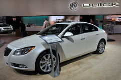 Buick Regal Turbo. NEW YORK - APRIL 11: The Buick Regal Turbo at the 2012 New York International Auto Show running from April 6-15, 2012 in New York, NY Stock Photo