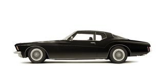 Buick Riviera 1972. Isolated on white Royalty Free Stock Image