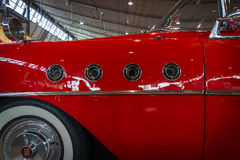 Buick Roadmaster的片段, 1955年 免版税库存照片