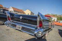 1958年Buick Roadmaster 75里维埃拉敞篷车 图库摄影
