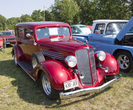 1934 Buick 57 Rode Auto Royalty-vrije Stock Afbeelding