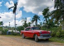 Buick rojo Fotos de archivo