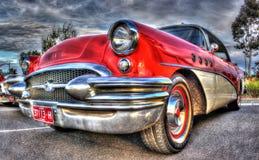 Buick rosso Fotografie Stock Libere da Diritti