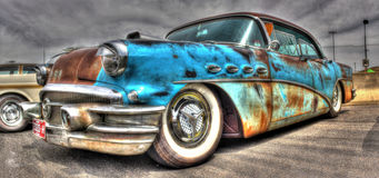 Buick rouillé Photos stock