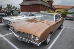 1972年Buick Skylark敞篷车 库存图片