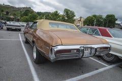 1972年Buick Skylark敞篷车 免版税库存照片
