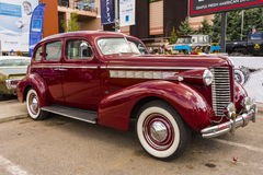 Buick 40 Special 1938. Classic american cars  Buick 40 Special 1938. Photo taken on May 31, 2015 in Bucharest, Romania Stock Photography