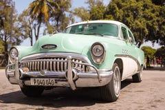 1953 Buick Special Old-timer - Havana, Cuba. Beautiful 1953 Buick Special Old-Timer parked in Old Havana La Habana Vieja, Cuba Royalty Free Stock Photo