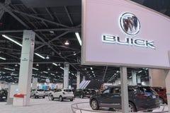 Buick ställning på skärm fotografering för bildbyråer