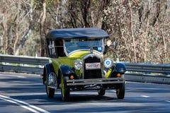 1925 Buick Standard Tourer. Adelaide, Australia - September 25, 2016: Vintage 1925 Buick Standard Tourer driving on country roads near the town of Birdwood Stock Image